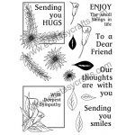 Creative Expressions Clear Stamps -  Flower Frames Elements Set