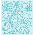 Embossing folder background Spider web 14.4x16cm.