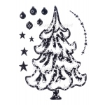 LeCreaDesign® Clear Stamp Christmas Tree