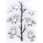 LeCreaDesign® Clear Stamp Little Birds