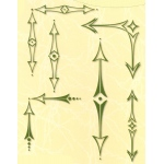 Project Life & Cards LeCreaDesign® clear stamp Arrows sharp