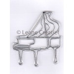 Doodle clear stamp Piano