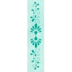 Lea'bilities Border Embossing Folder - Border ornamental