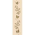 Lea'bilities Border Embossing Folder - Branch