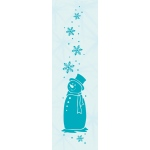 Leane Creatief  - Border Embossing Folder Snowman