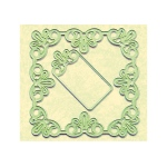 Lea'bilitie® frame square lace cut and embossing die