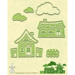 Lea'bilities - Country House Scene cutting and embossing die