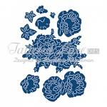 Tattered Lace Die - Charisma Peony with CD-ROM