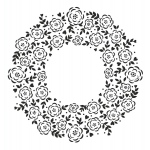 Creative Expressions Floret Circle Stamp