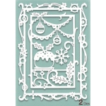 Creative Expressions Die Paper Cuts Collection - Christmas Feast
