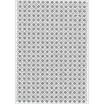 Creative Expressions  Embossing Folder A4 Size - Checkboard