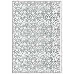 Creative Expressions Embossing Folder A4 - Twinkle Twinkle