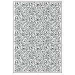 Creative Expressions Embossing Folder A4 - Star Swirls