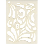 Creative Expressions Mini Stencil -Splash