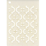 Creative Expressions  Mini Stencil -Ornamental