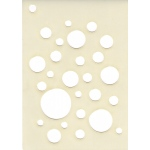 Creative Expressions Mini Stencil -Bubble Burst