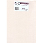 Foundation A4 Pearl Cardstock 230gsm pk 20 - Vanilla