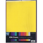 EVA Multi Color Foam package 10 sheets