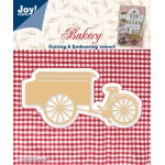 Joy! Crafts Cutting & Embossing Die Bakery -Cart