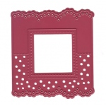 Joy! Crafts Cutting & Embossing Die Header Card -square