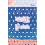 Joy! Crafts Cutting & Embossing Die - Two Tools 1