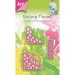 Joy! Crafts Cutting & Embossing Die -3D Fantasy Flower Corners