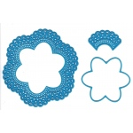 Cutting and Embossing Die - 6-point flower doily
