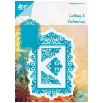 Joy! Crafts Cutting & Embossing Die frame + 3 corners