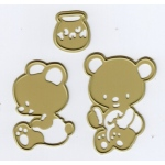 Cutting and Embossing die - Honey Bears (3)