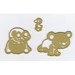 Cutting and Embossing die - Baby Bears (3)