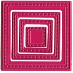 Joy! Crafts Cutting & Embossing Die - small nested Squares (4)