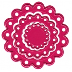 Joy! Crafts Cutting & Embossing Die - Mini Scalloped Circles