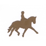 Cutting Die-Dressage Horse