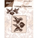 Joy! Crafts Dies - Vintage Flourishes-Heart and Birds
