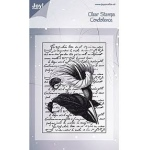 Clear Stamps - Lily with Script