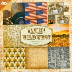 Ecstasy Crafts Bloc Paper - Western Theme - Wild West