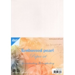 Joy! Crafts Paper Pack Embossed Pearl-A4
