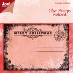 Stamp text ENG - Christmas card
