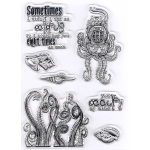 Clear Stamp Under The Sea - Octopus
