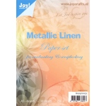 Joy! Crafts Paper Pack Metallic Linen-A5