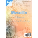 Joy! Crafts Paper Pack Metallic-Assorted-A5