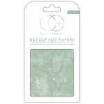 Creative Expressions Peacock Turquoise Decoupage Papers