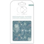 Creative Expressions Peacock Blue Decoupage Papers