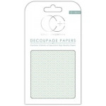 Creative Expressions Ceramic Blue Decoupage Papers