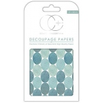 Creative Expressions Blue Dots Decoupage Papers