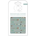 Creative Expressions Pebble Chain Decoupage Papers