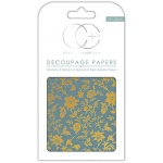 Vintage Floral Decoupage Papers