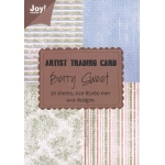 Ecstasy Crafts Atc Paper Block - Berry Sweet