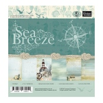 Couture Creations -Sea Breeze Paper Pad 6 x 6