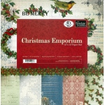 "Christmas Emporium 12""x12"" Paper Pad (24 Dbl Sided Sheets)"